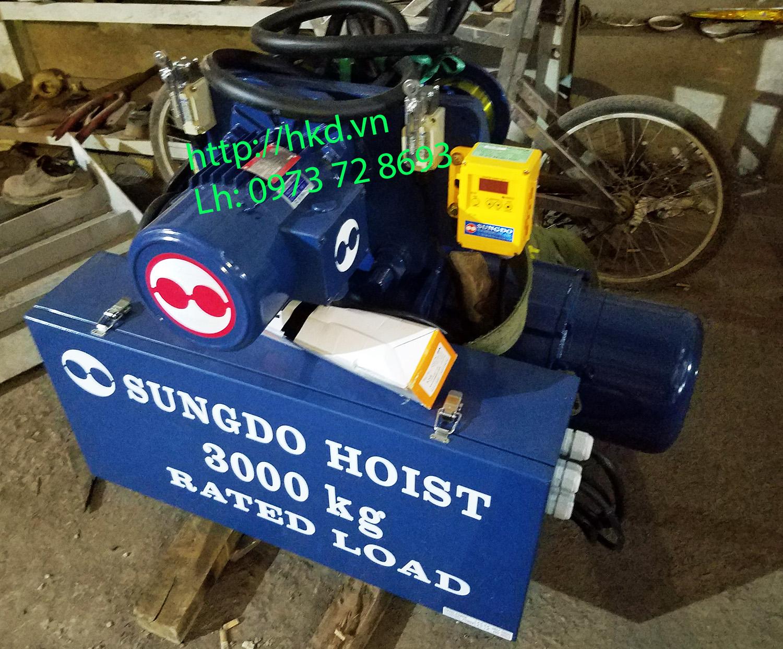 Palang SungDo 3 tấn dầm đơn