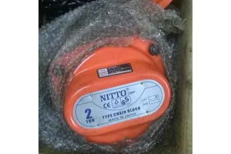 Palang xích kéo tay 2 tấn Nitto
