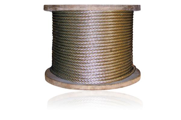 Cáp thép chống xoắn 19x7