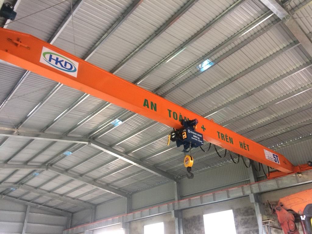 Cầu trục dầm đơn 5 tấn HKD