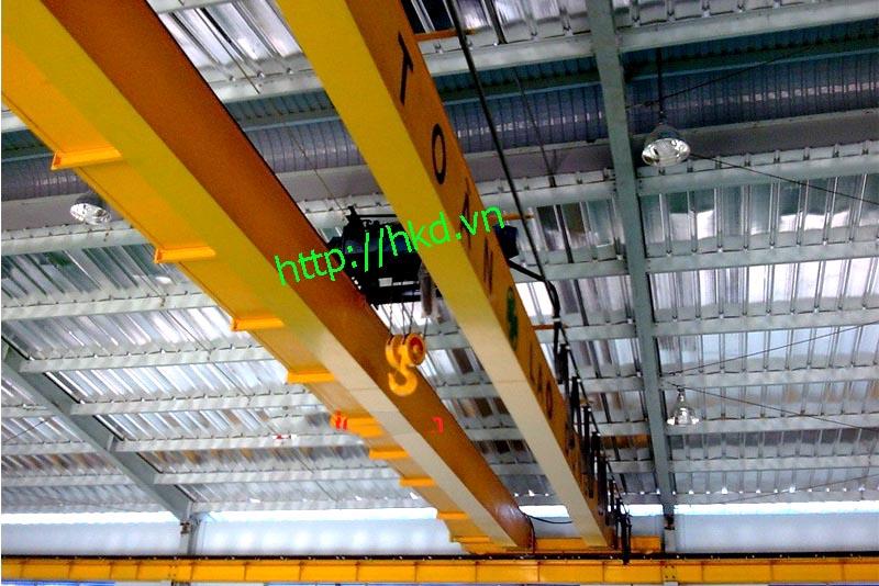 Cầu trục dầm đôi 10 tấn khẩu độ lớn