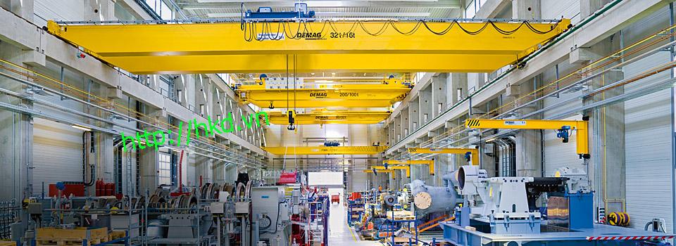 Cầu trục dầm đôi 32/10 tấn x 12 mét
