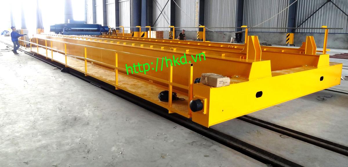 Cầu trục dầm đôi 7.5 tấn, cầu trục 7.5 tấn - HKD