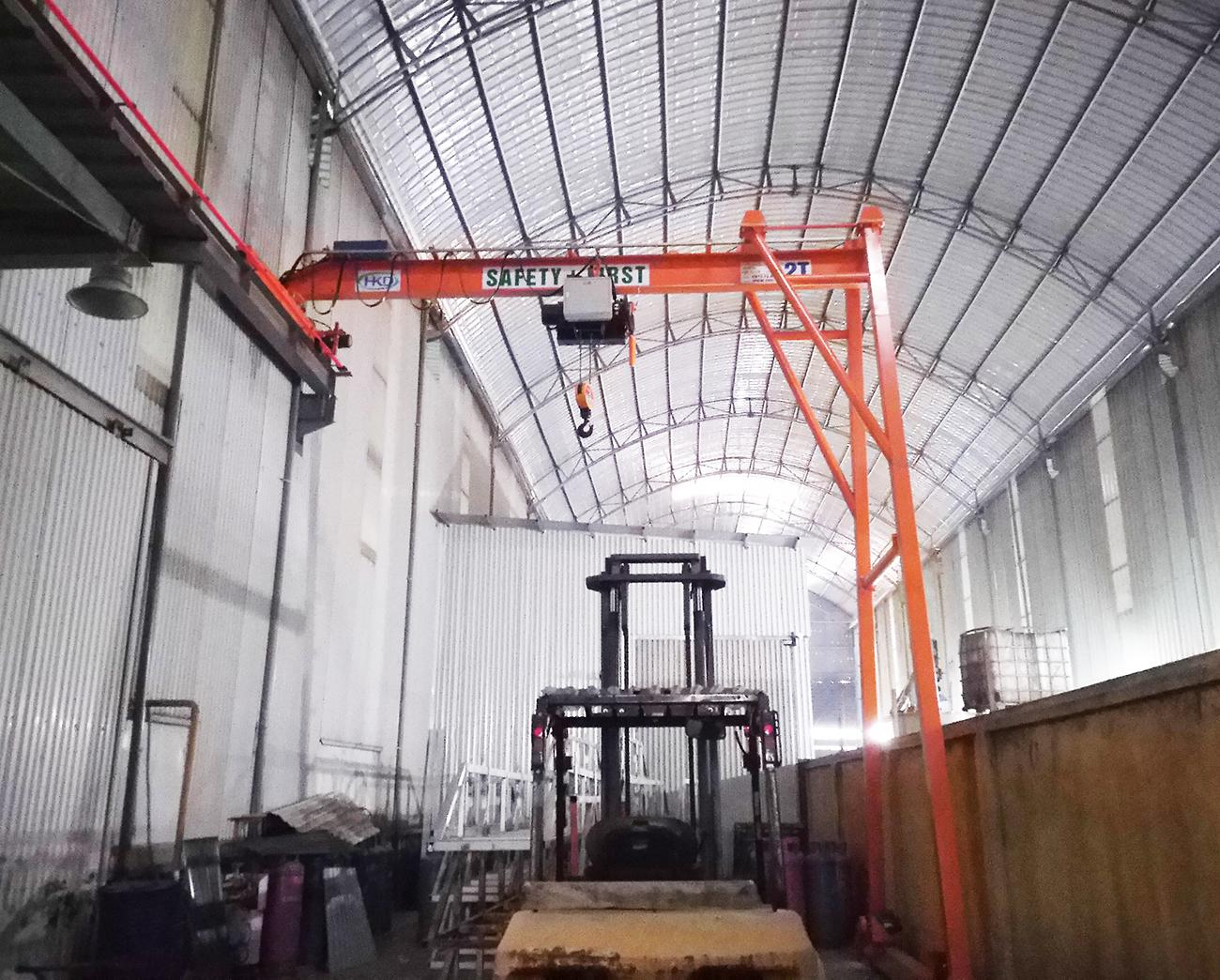 Bán cổng trục dầm đơn 2 tấn x 7m do HKD cung cấp và lắp đặt