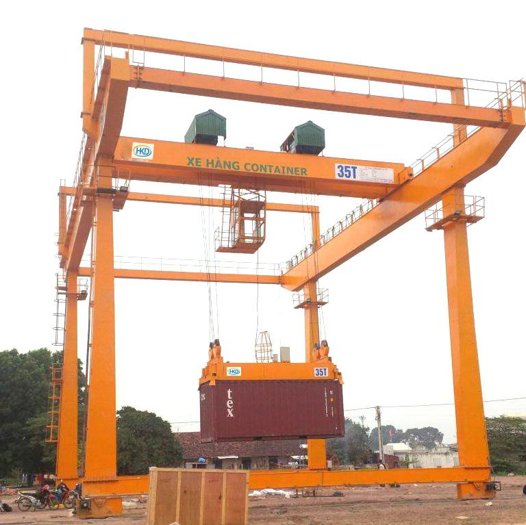 Cổng trục nâng hạ container 35 tấn tại Bắc Ninh