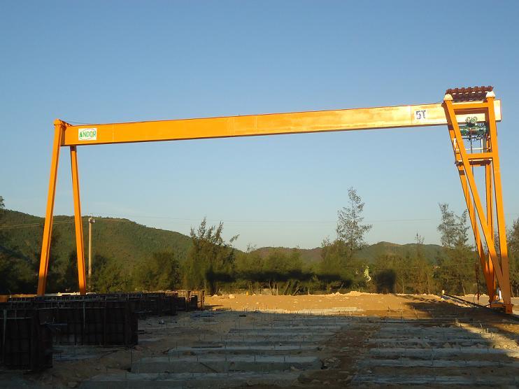 Cổng trục dầm đơn 5 tấn x 16.5 mét