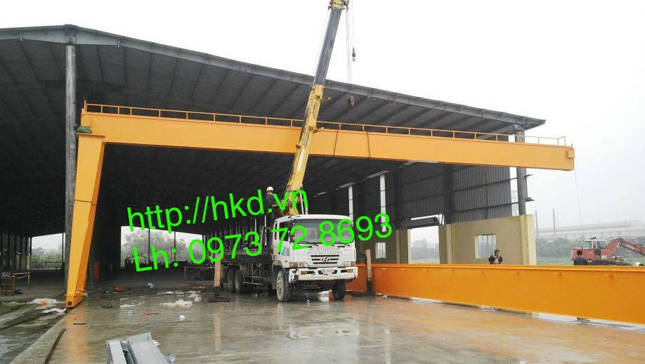 Cổng trục dầm đôi tải trọng lớn HKD