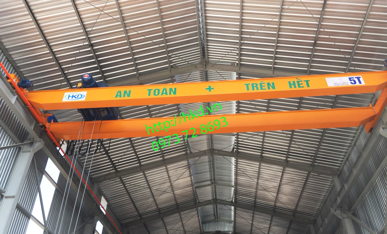 Cầu trục dầm đôi 5 tấn HKD
