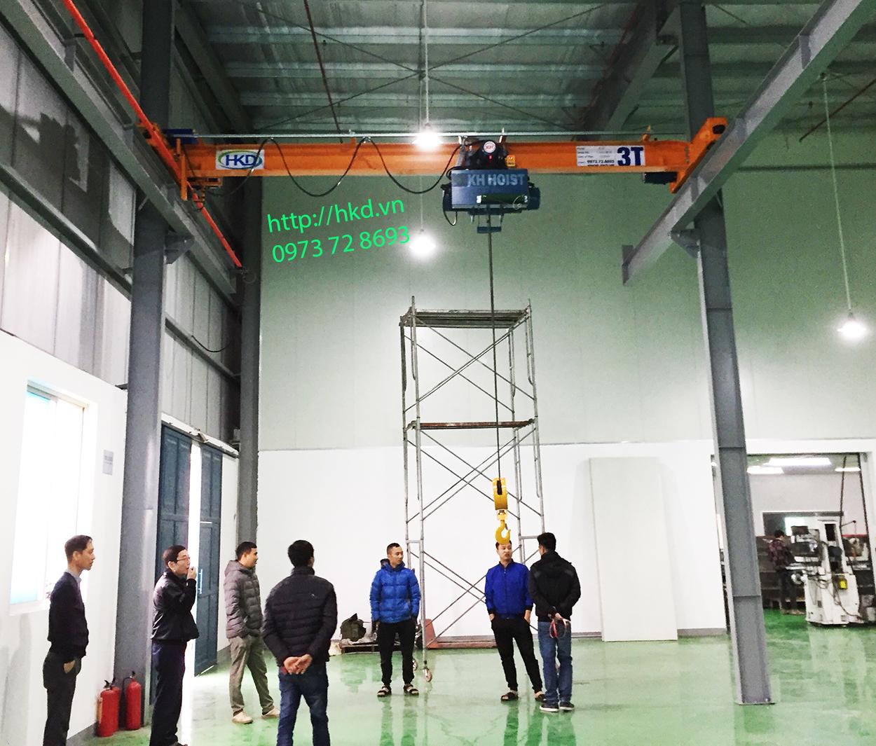 Kiểm tra toàn bộ hệ thống cầu trục trước khi vận hành
