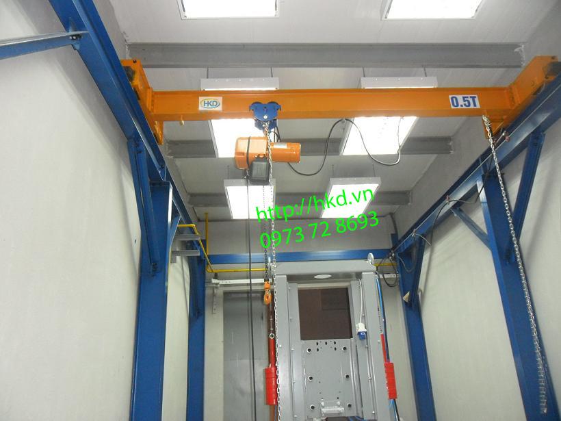 Cầu trục 0.5 tấn - 1 tấn tại HKD