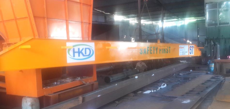 Dầm chính cầu trục đơn 5 tấn x 18m HKD sản xuất và cung cấp