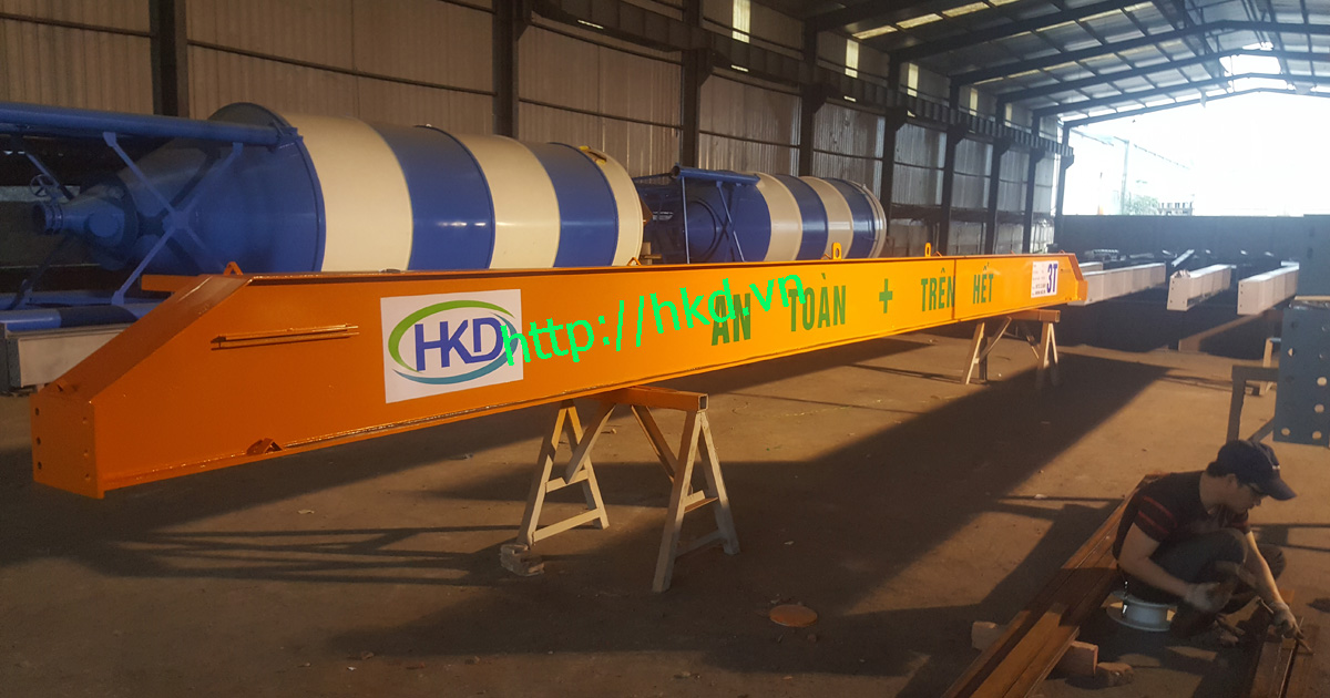 Dầm cầu trục đơn 5 tấn tại HKD