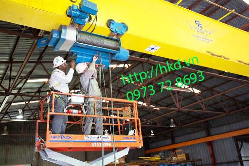 Sửa chữa cầu trục tại HKD