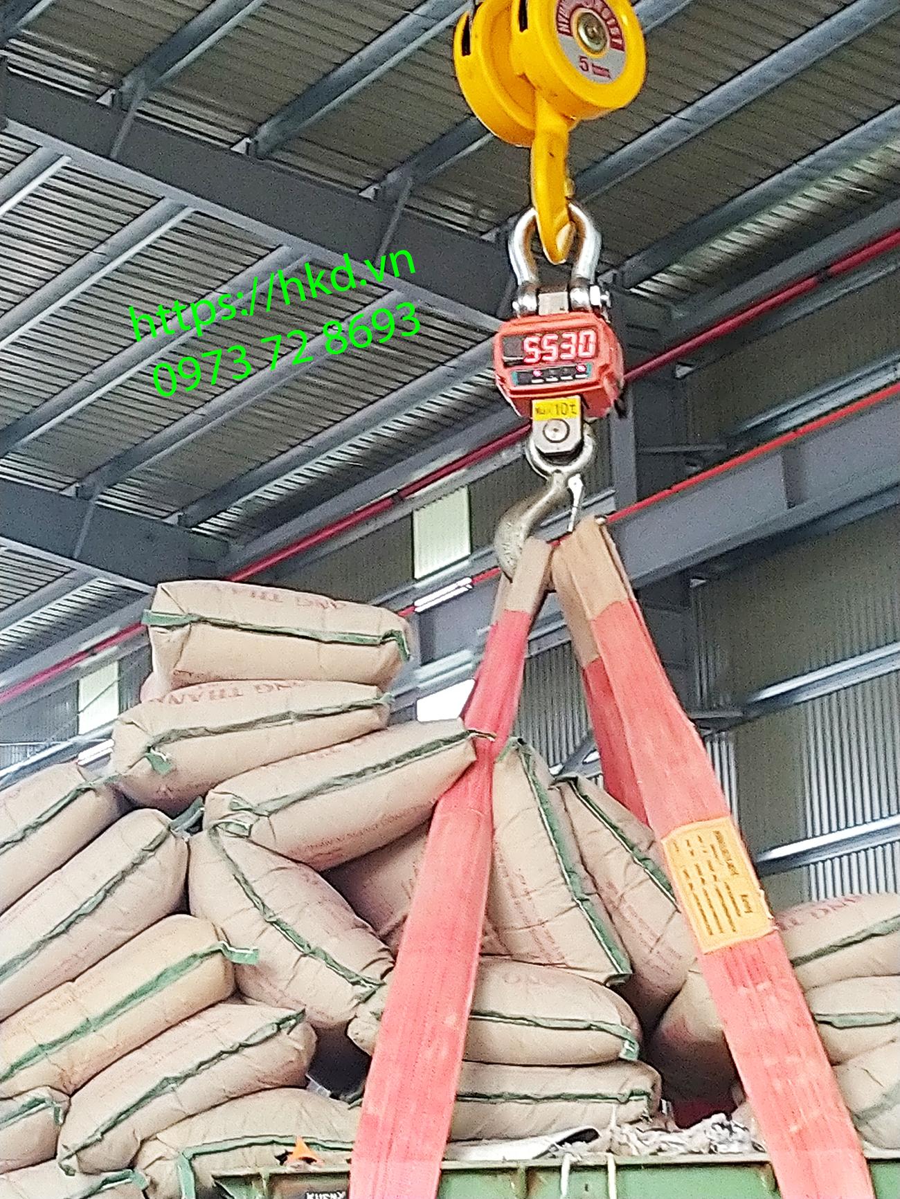 Móc cẩu chịu tải trọng lớn tại HKD